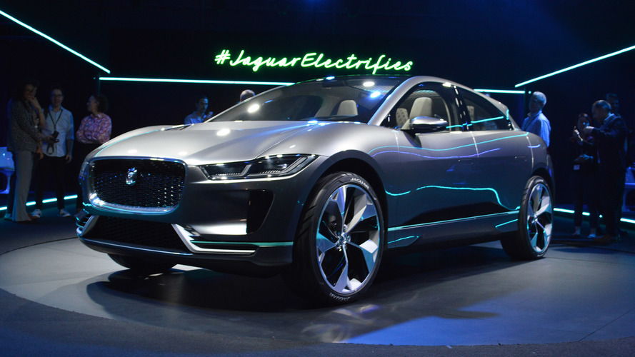 Jaguar I-Pace Concept takes dead aim at Tesla Model X