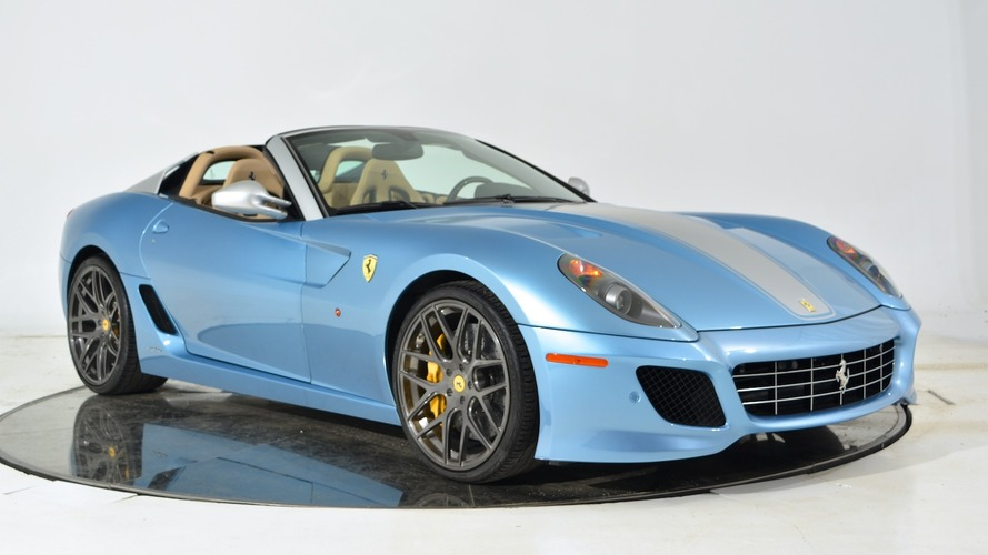 Rare Ferrari 599 SA Aperta selling for $1.7 million