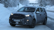 2016/2017 Kia Sportage spy photo