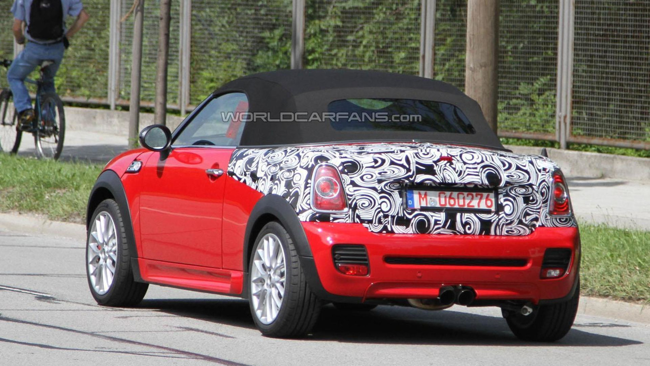 2012 MINI JCW Roadster spy photo - 30.6.2011