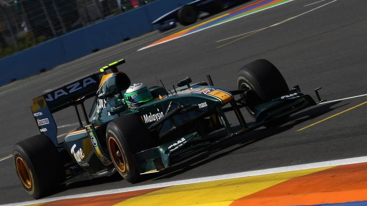Heikki Kovalainen (FIN), Lotus F1 Team, European Grand Prix, 25.06.2010 Valencia, Spain