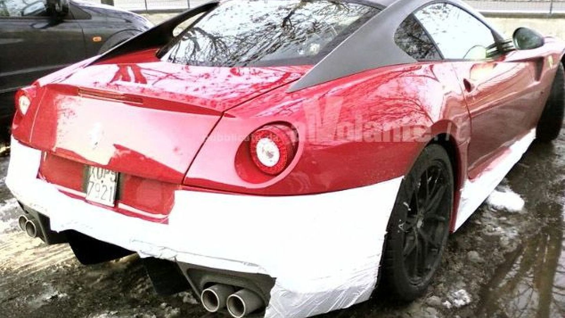Ferrari 599 GTO Spied in Italy - Road Going 599XX