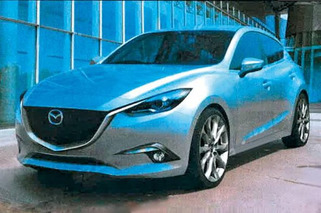 2014 Mazda3 Images Leaked; No More Smiley
