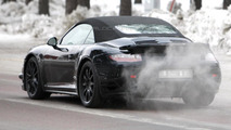 2013 Porsche 911 Turbo Cabriolet prototype spy photo