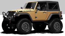 Jeep Wrangler Sand Trooper 12.10.2012