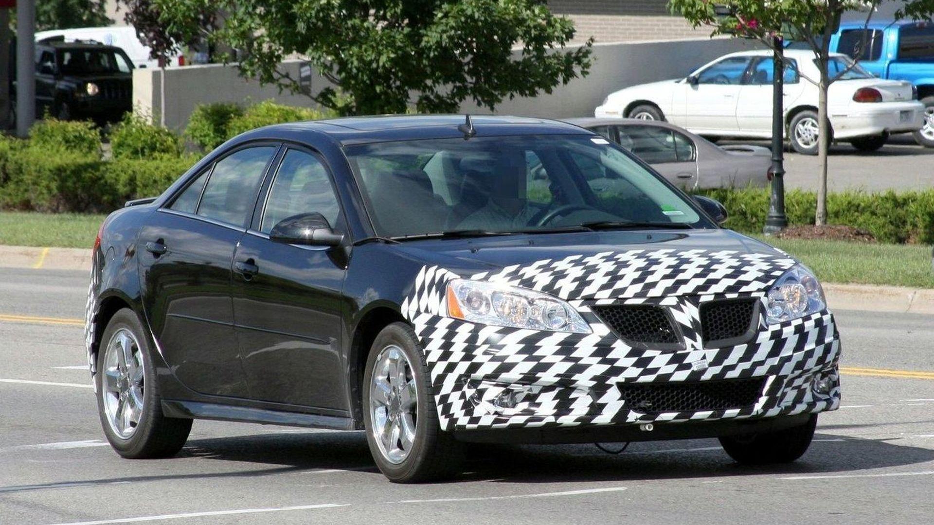 Pontiac G6 Facelift Spied