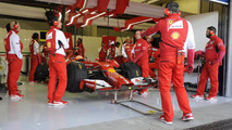 Ferrari confirm F1 test trio