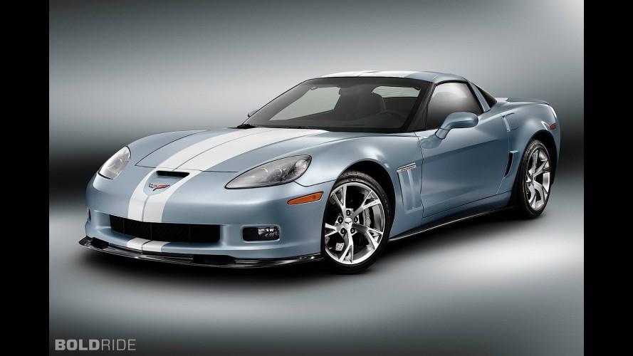 Chevrolet Corvette Carlisle Blue Grand Sport Concept