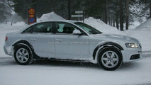 A4 allroad in Deep Snow
