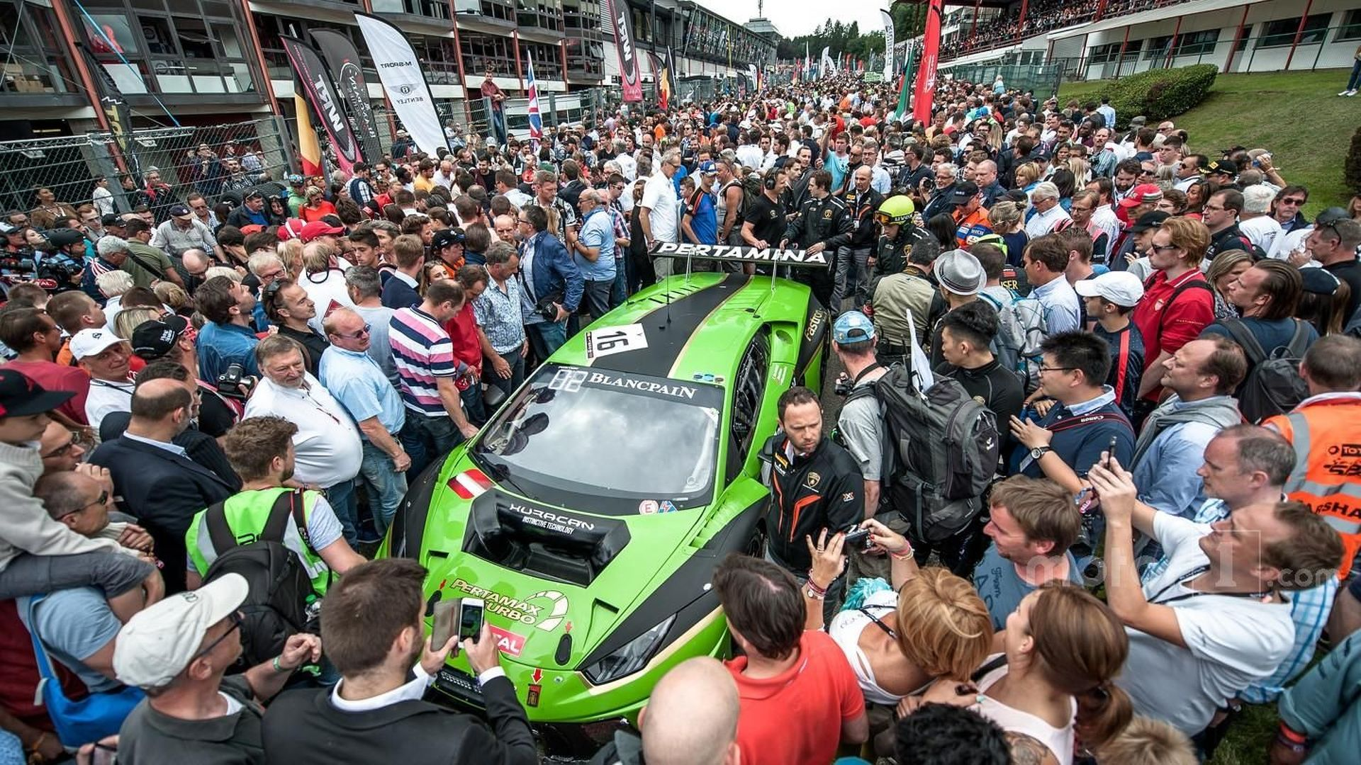 Lamborghini tipped for 2018 WEC entry with Huracan project