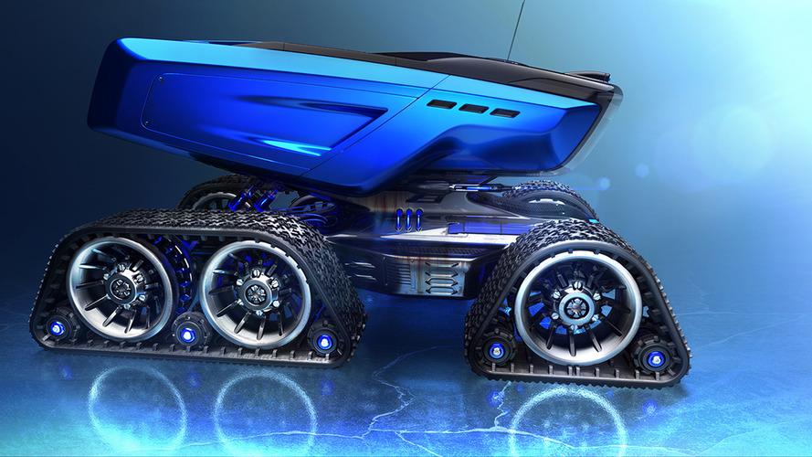 Rümker space exploration truck visualizes the future of planetary travel