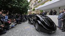 Ralph Lauren's Bugatti Atlantic 57SC at 2013 Concorso d'Eleganza Villa d'Este 27.05.2013