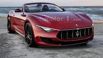 2019 Maserati Alfieri Cabrio render has our approval