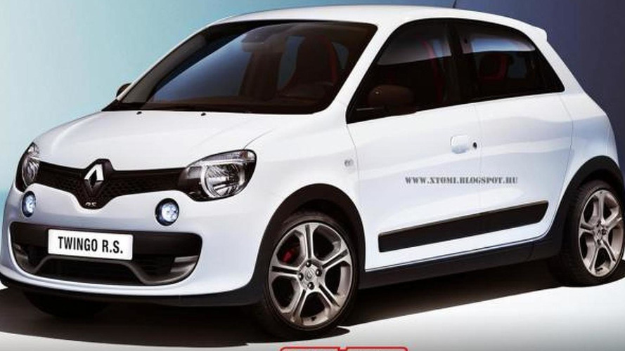 2014 Renault Twingo RS rendering is a dream come true