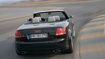The Audi RS4 drives off... for now