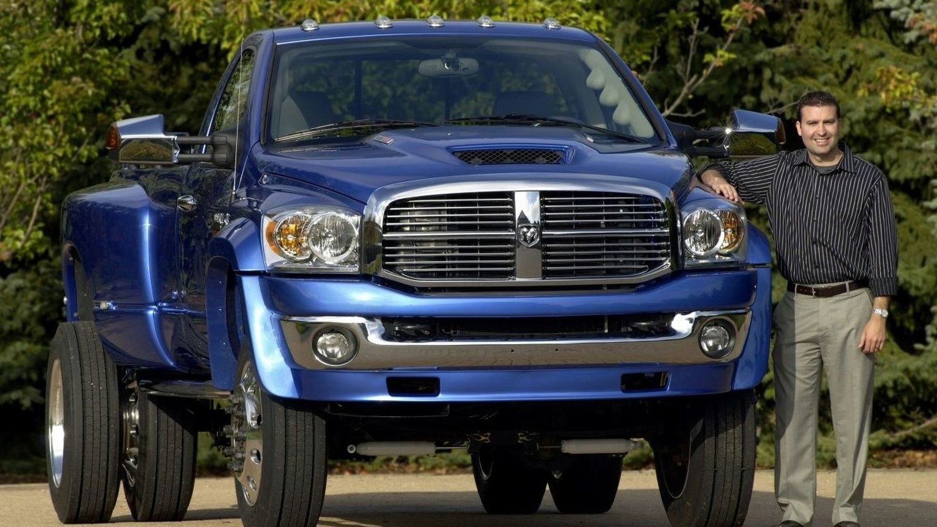 Dodge Ram BFT at SEMA