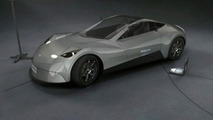 Electric Raceabout Research Vehicle from Finland
