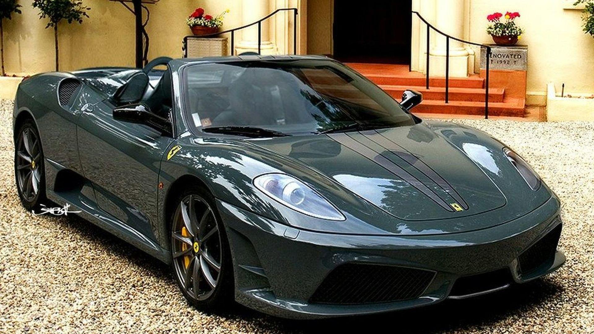 Rendered Speculation: Ferrari 430 Scuderia Spider