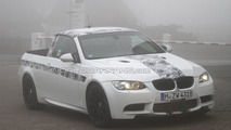BMW M3 pickup testing at Nurburgring 23.03.2011