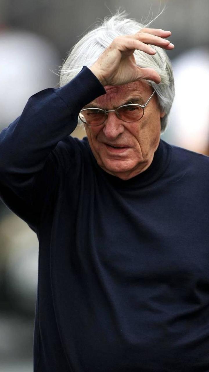 Bernie Ecclestone (GBR) - Formula 1 World Championship, Rd 17, Korean Grand Prix, 21.10.2010 Yeongam, Korea