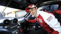 Ferrari 599XX - Massa behind the wheel in Valencia [Video]