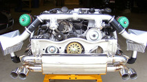 Switzer Details P800 Tuning Package for Porsche 911 Turbo Plus New Photos