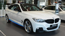 BMW 3-Series GT kitted with M Performance goodies exhibited at Abu Dhabi dealer
