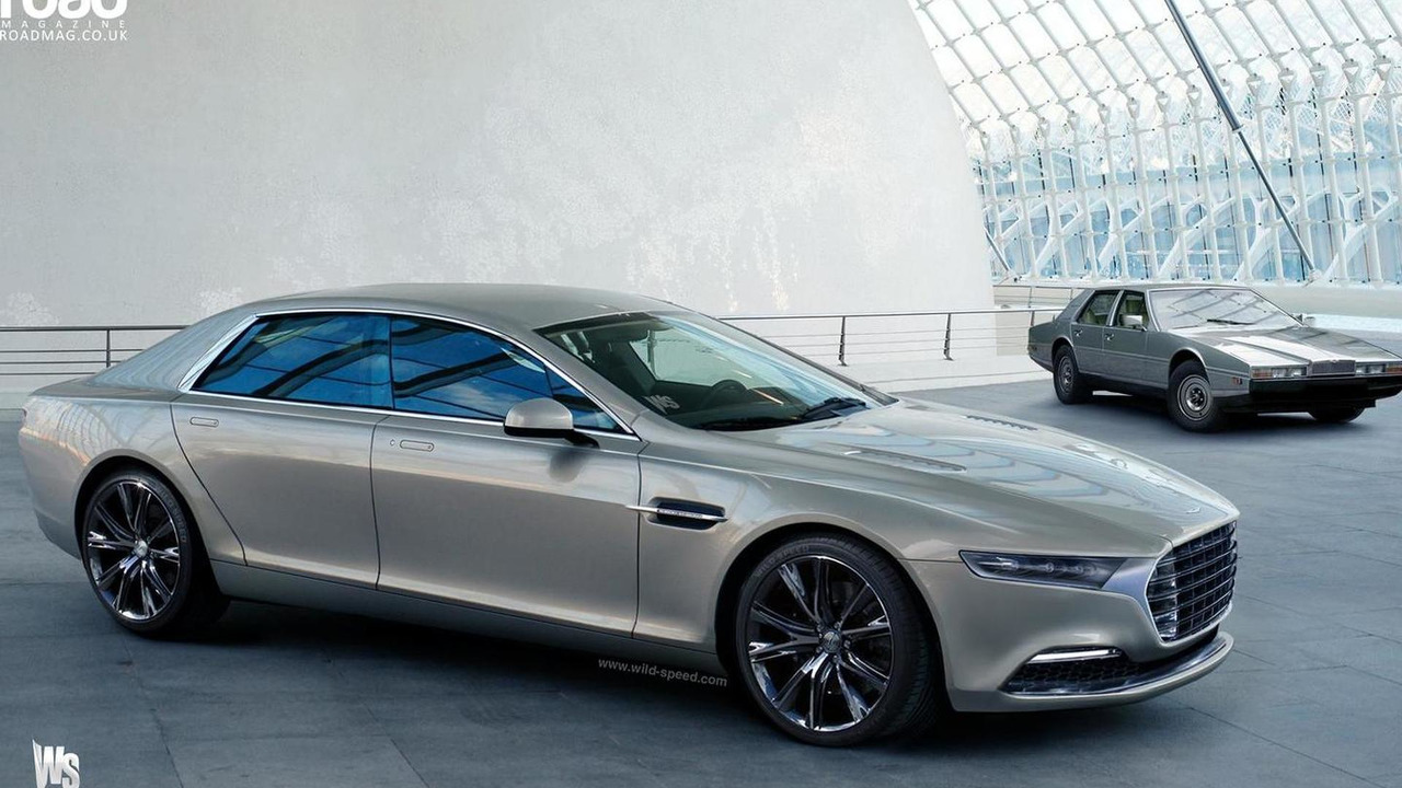 Q by Aston Martin Lagonda render