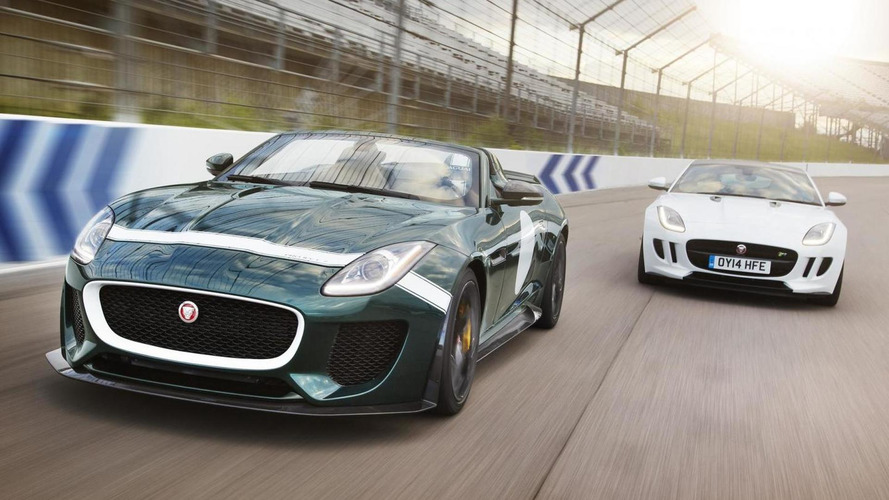 Jaguar F-Type Project 7 announced, will go into limited production