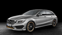 Mercedes-Benz CLA and CLA 45 AMG Shooting Brake revealed