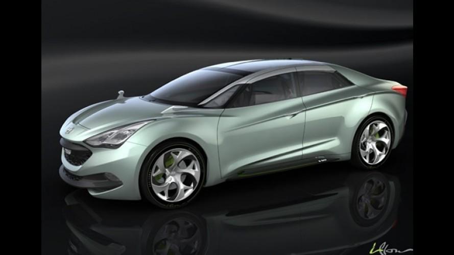 Salão de Genebra: Mais informações e fotos do Hyundai I-Flow surgem na rede