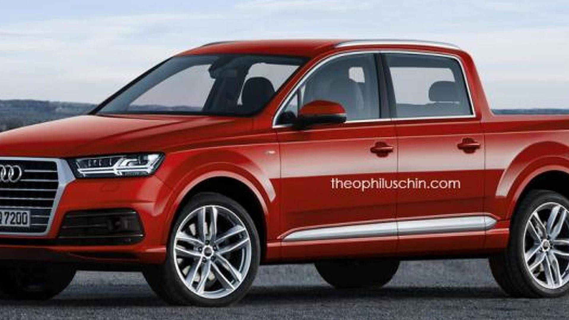 Audi Rules Out Pickup Truck For The Foreseeable Future Rs