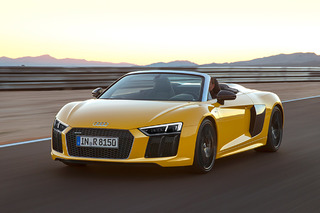 The 2017 Audi R8 Spyder Dazzles at the NY Auto Show