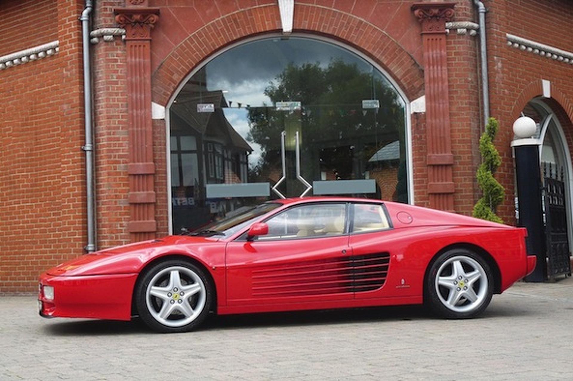 Elton John's Pristine Ferrari 512 TR Headed to Auction