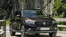Borgward releases design and driving footage of their BX7 crossover