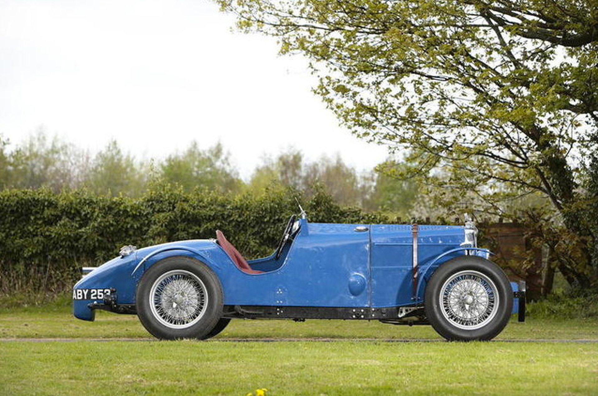 This Rare MG Magnette Sold for $130K At Auction