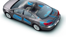 2012 Volkswagen CC facelift - Improved soundproofing body design area