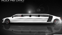 Audi R8 stretch limo by Limo Broker