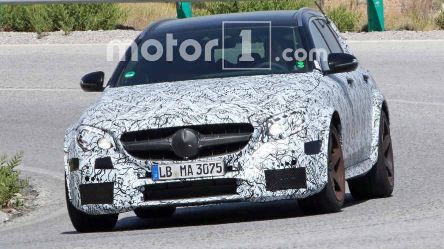 Mercedes-AMG E63 Black Series Estate spied