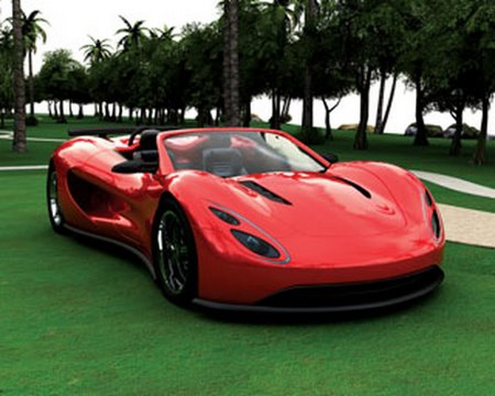200 mph Hybrid - The Scorpion Supercar