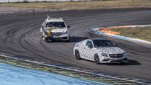 Mercedes continues to tease the C63 AMG Coupe