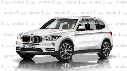 Next BMW X3 rendered with evolutionary design