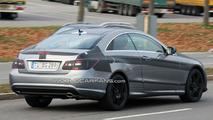 Mercedes E-Class Coupe clearest shots yet