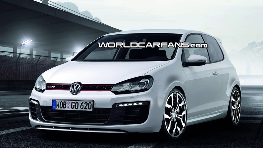 Rendered & Speculated: Volkswagen Golf R20T