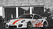 Wimmer RS Porsche GT2 Speed Biturbo with 827 PS