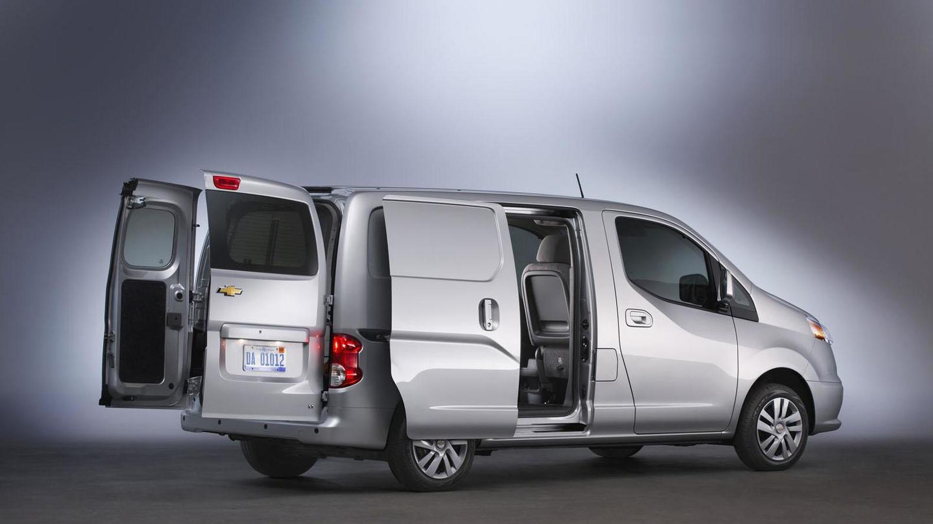 2015 Chevrolet City Express unveiled, features a 2.0-liter four-cylinder engine