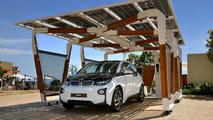 BMW DesignworksUSA shows off their stylish i solar carport concept