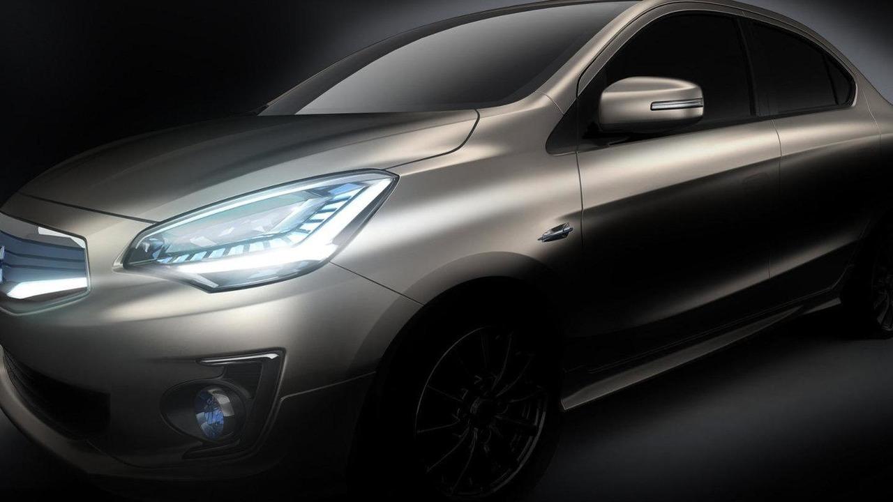 Mitsubishi G4 Compact Sedan Concept teaser
