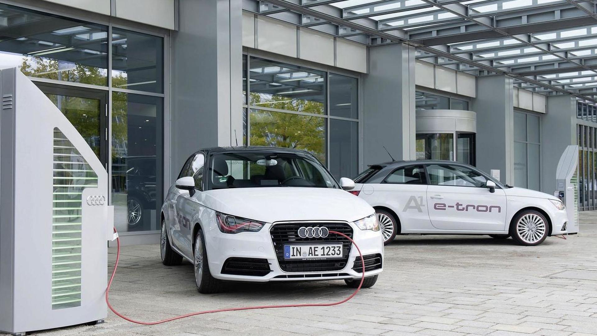 Audi introduces an updated A1 e-Tron