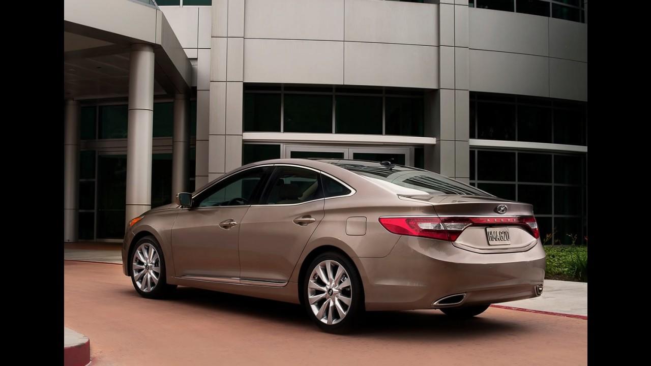 Novo Hyundai Azera 2012: Galeria de Fotos